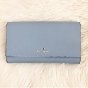 Kate Spade Mikas Pond Phoenix Large Leather Wallet
